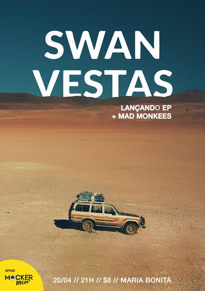 Swan Vestas - poster show