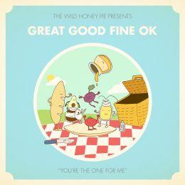 """Ilustração para acompanhar o lançamento do clipe """"You're The One For Me"""", da banda Great Good Fine OK, promovido pelo The Wild Honey Pie (NY)."""